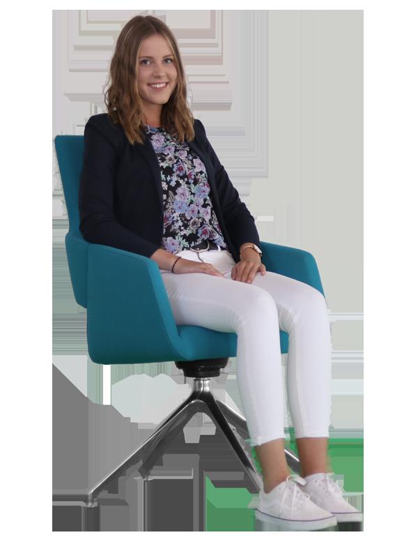 Frederike Sieve - Auszubildende zur Kauffrau im E-Commerce